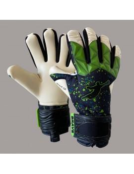 Воротарські рукавиці BRAVE GK FURY GREEN PAINT DROPS