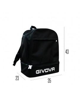Рюкзак GIVOVA SPORT BLACK 35х43х23