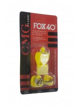 Свисток суддівський FOX 40 Black/Yellow/Red