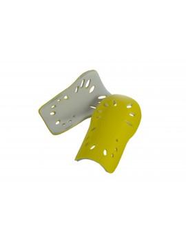 Щитки футбольні OKS Розмір XS Жовті