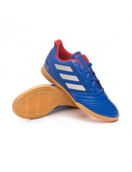 Futsal Boot Predator Tango 19.4 IN Sala Bold blue-Silver metallic-Active red