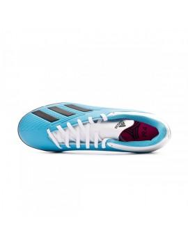Football Boot X 19.4 Turf Bright cyan-Core black-Shock pink