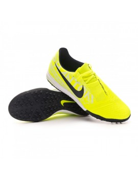Football Boot Phantom Venom Academy Turf Volt-Obsidian