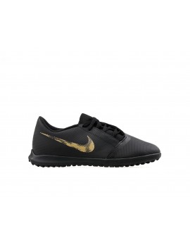 Nike Kids Phantom VNM Club TF - Black/Metallic Gold