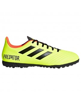 adidas Kids Predator Tango 18.4 TF - Solar Yellow/Core Black/Solar Red