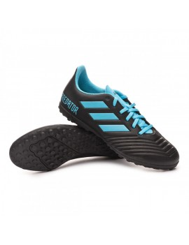 Football Boot Predator 19.4 Turf Niño Core black-Bright cyan-Solar yellow