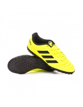 Football Boot Copa 19.4 Turf Niño Solar yellow-Core black-Solar yellow