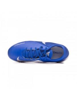 Football Boot Kids Phantom Vision Academy Turf Racer blue-Chrome-White