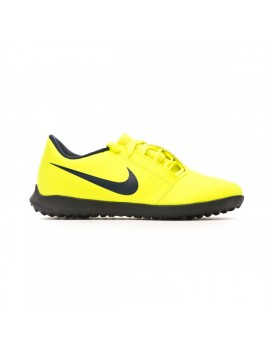 Football Boot Phantom Venom Club Turf Niño Volt-Obsidian