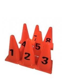 Конуси з номерами 1-8. OKS Висота 23см.
